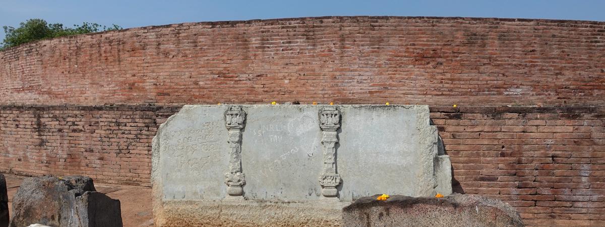 印度安德拉邦-吉祥米聚時輪塔