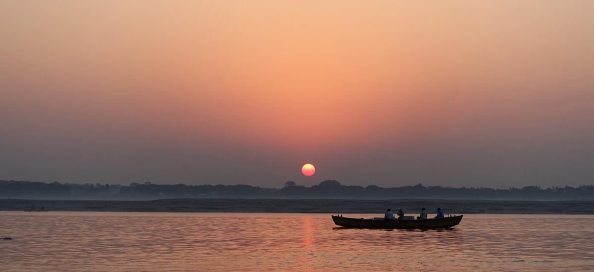 印度瓦拉納西-恆河日出 Ganges River Sunrise