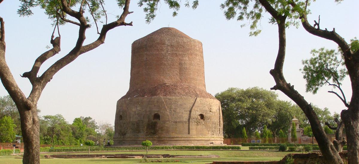 印度瓦拉納西-鹿野苑 Sarnath