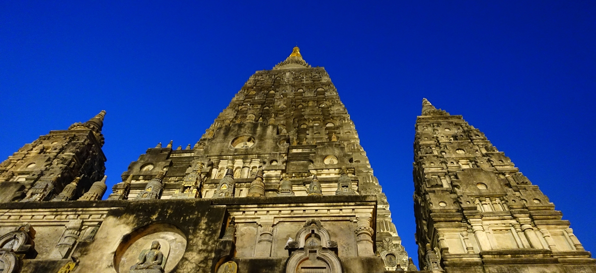 印度菩提伽耶-正覺大塔 Mahabodhi Temple