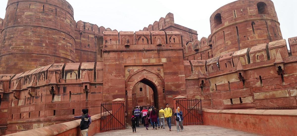 印度阿格拉-紅堡 Agra Fort