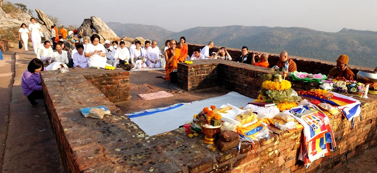 印度王舍城-靈鷲山 Gridhakuta Hill