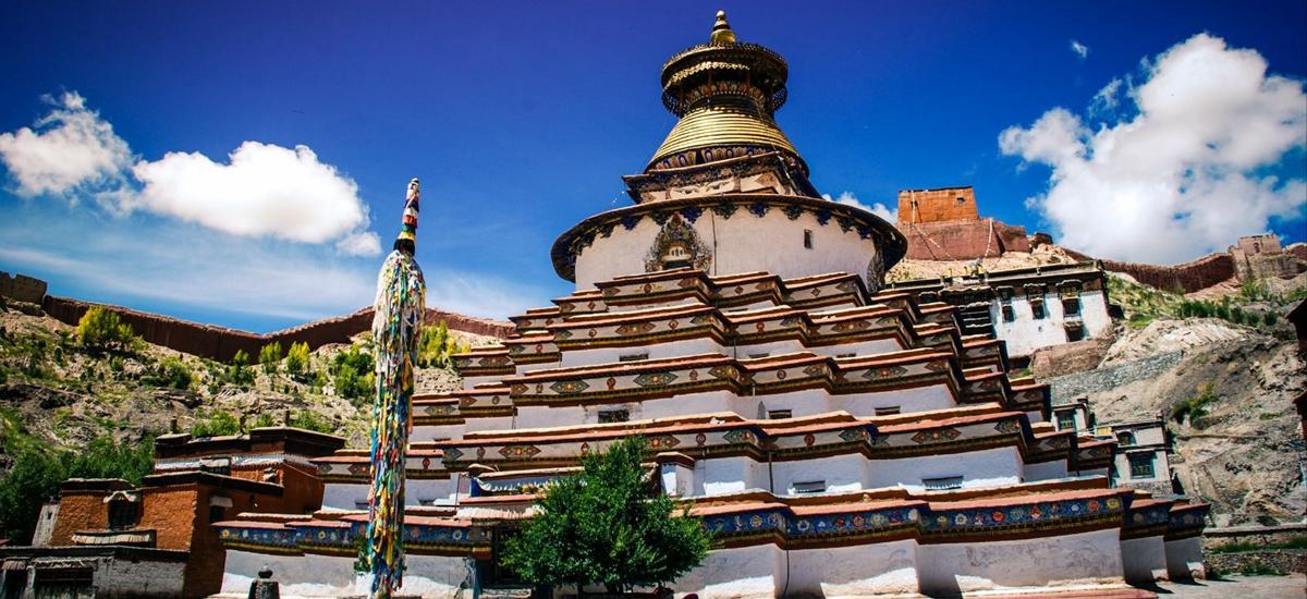 西藏日喀則-白居寺