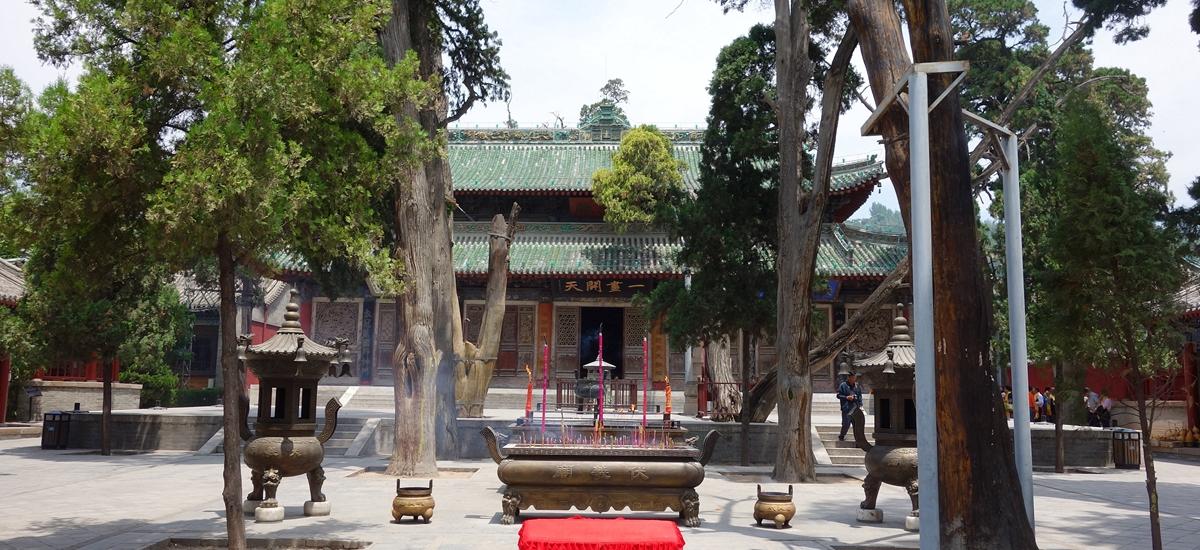 甘肅天水-伏羲廟