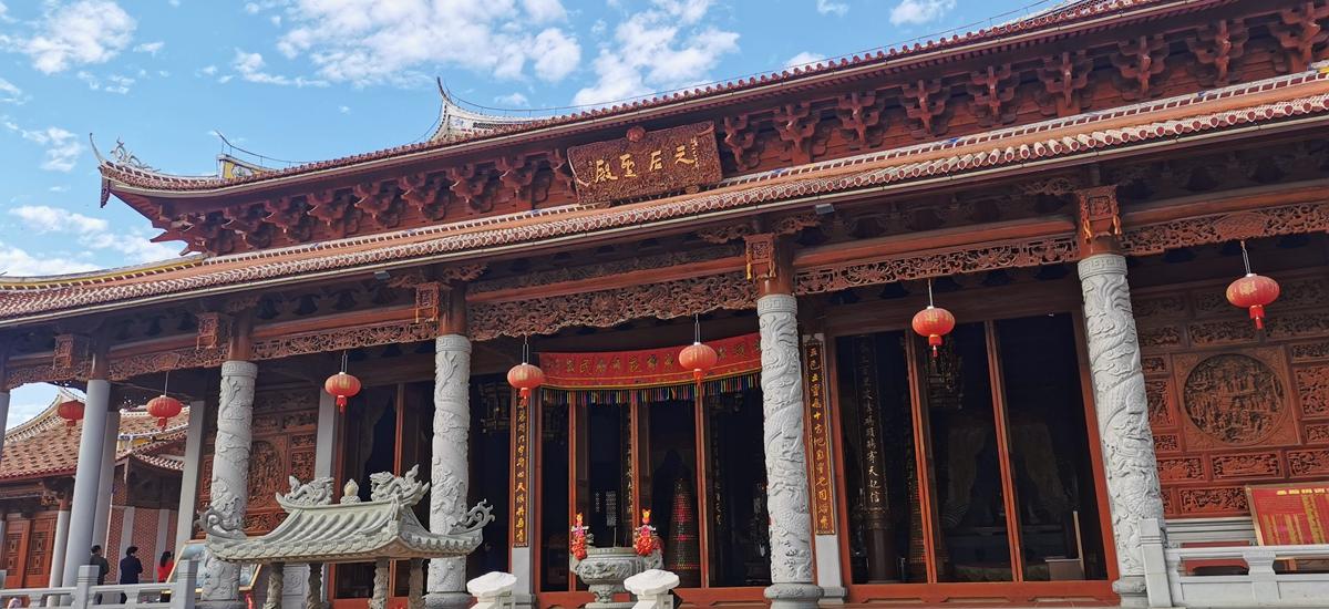 福建莆田-湄洲島媽祖廟