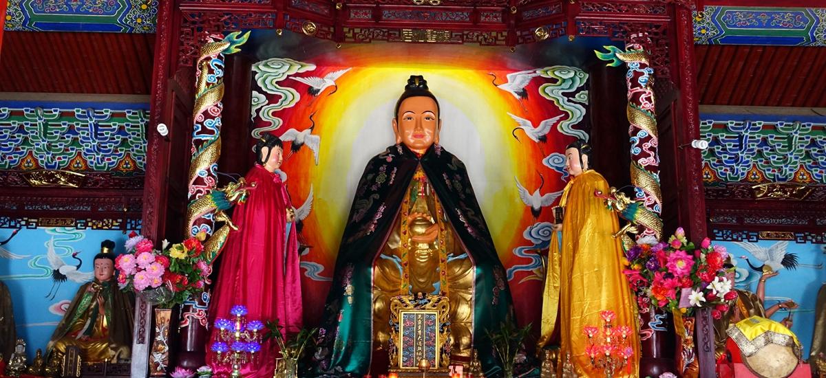 陝安臨潼-驪山老母殿