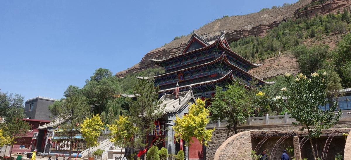 青海西寧-北禪寺土樓觀