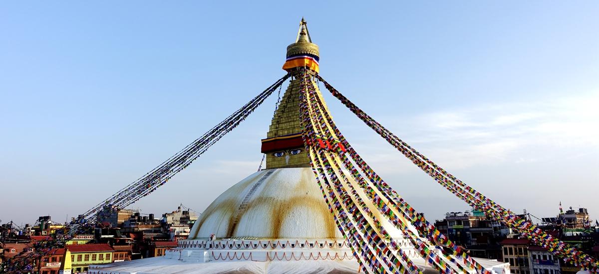 尼泊爾加德滿都-博拿佛塔 BoudhanathStupa