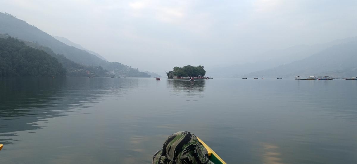 尼泊爾波卡拉-費娃湖 Phewa Lake