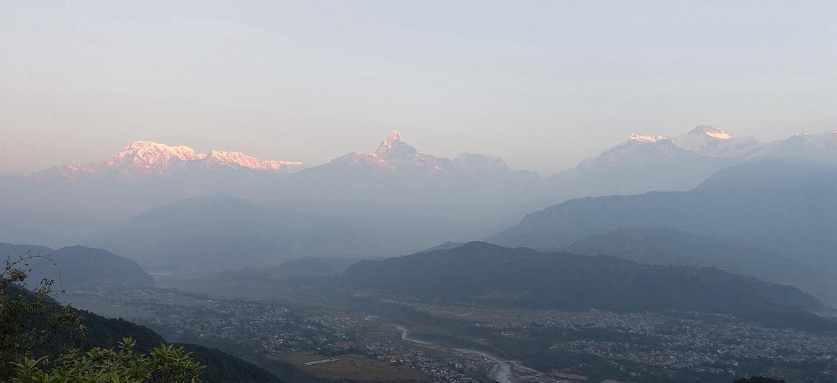 尼泊爾波卡拉-魚尾峰日出 Fish Tail Sunrise