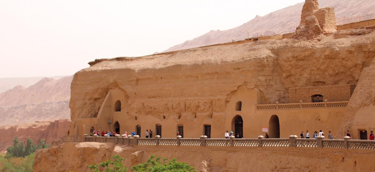 新疆吐魯番-柏孜克里克千佛洞