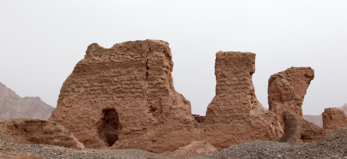 新疆龜茲-蘇巴什佛寺遺址