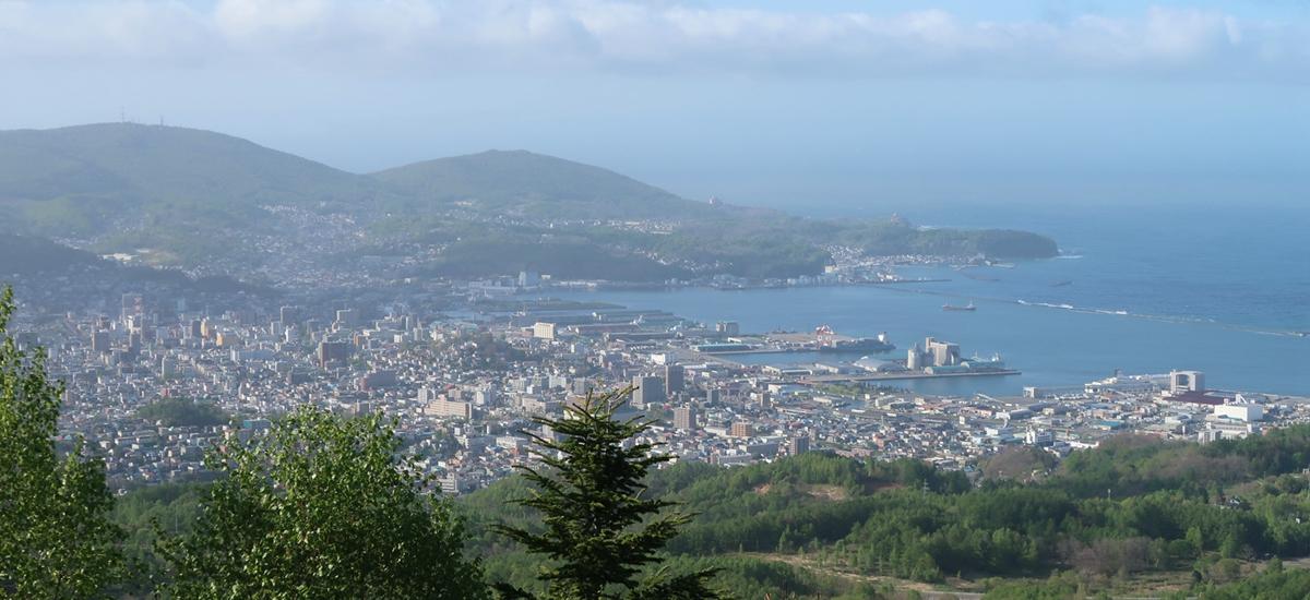 日本北海道-小樽運河
