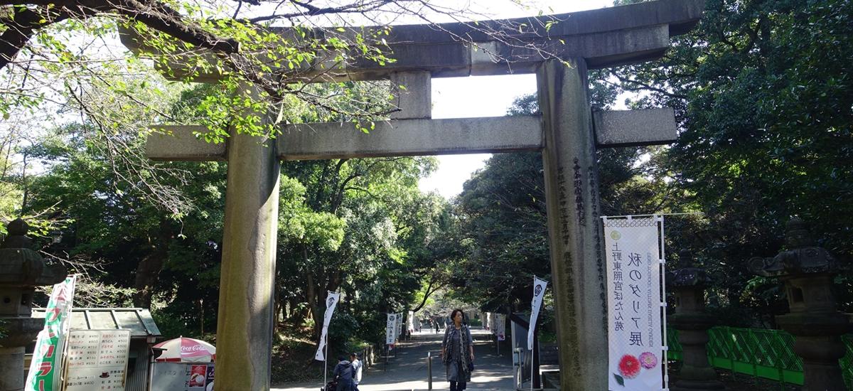 日本東京-上野東照宮