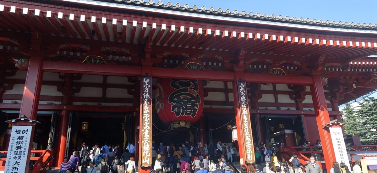 日本東京-雷門淺草觀音寺