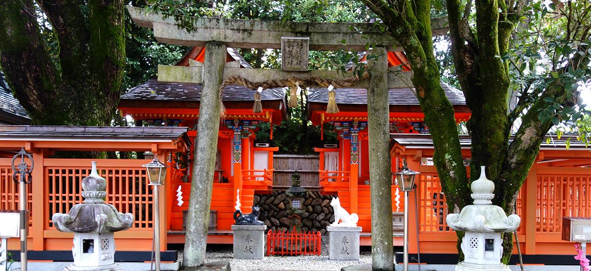 日本和歌山-犬飼山丹生明神.高野明神