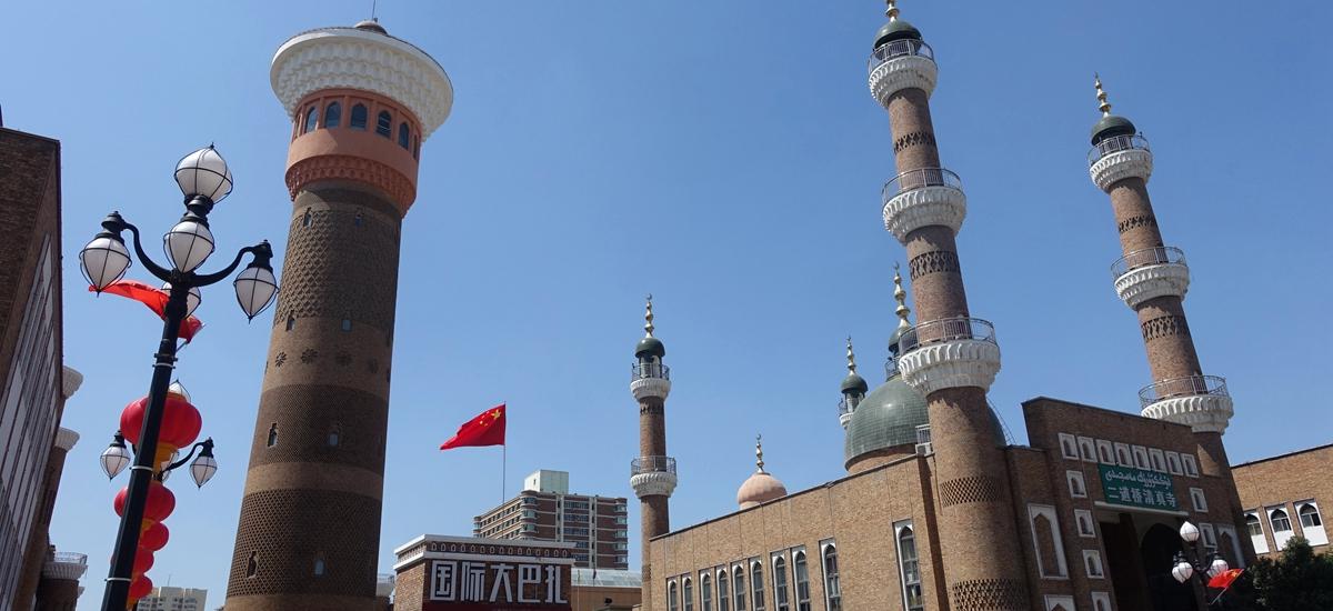 新疆烏魯木齊-國際大巴扎