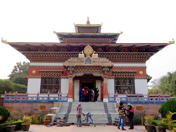 菩提迦耶 Bodh Gaya 不丹寺.印度山日本寺