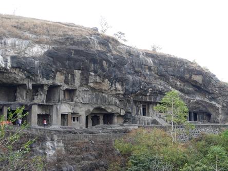 印度奧蘭卡巴-艾蘿拉石窟 Ellora Caves