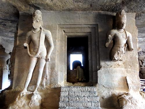 印度孟買-象島石窟 Elephanta Caves
