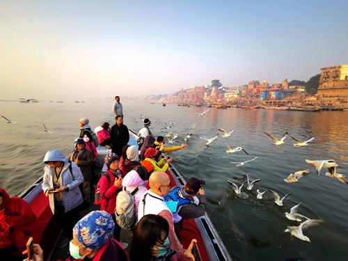 瓦拉納西 Varanasi 印度恆河.恆河女神.水燈之願.恆河日出