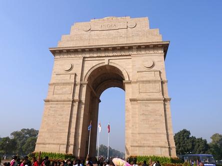 印度德里-印度門 India Gate