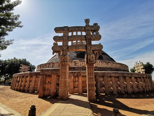 印度波帕爾-桑奇大塔 Great Stupa of Sanchi
