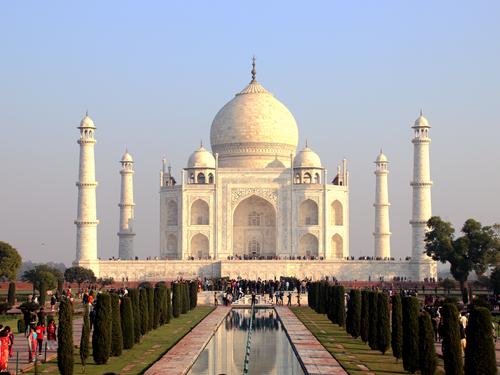 印度阿格拉-泰姬瑪哈陵 Taj Mahal