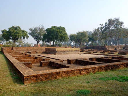 印度舍衛國-祇樹給孤獨園 Jetavana Vihara