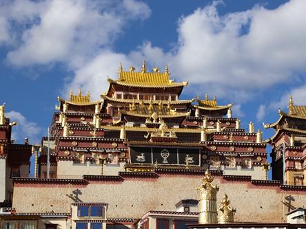 雲南迪慶-松贊林寺
