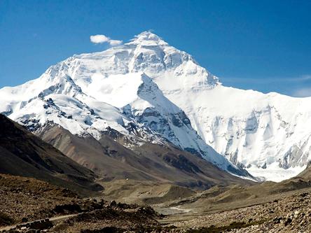 西藏定日珠穆朗瑪峰-珠峰大本營