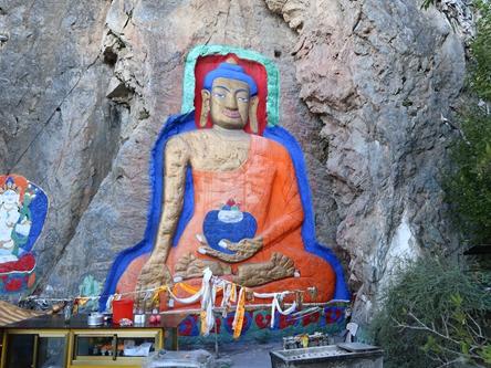 西藏拉薩-聶當大佛
