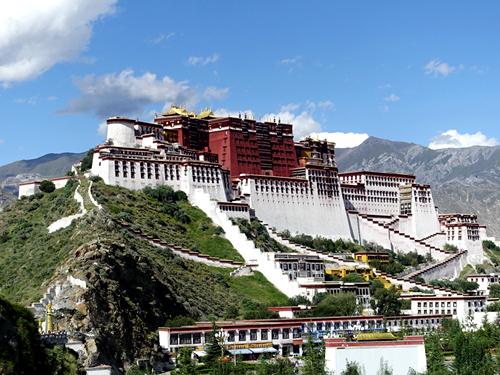 西藏拉薩-布達拉宮