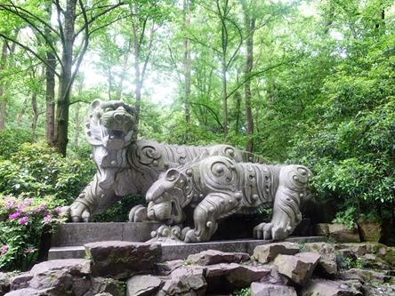 浙江杭州-虎跑泉