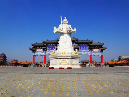陝西西安-趙公明財神廟
