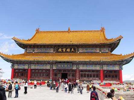 山西忻州-五台山中台翠岩峰演教寺
