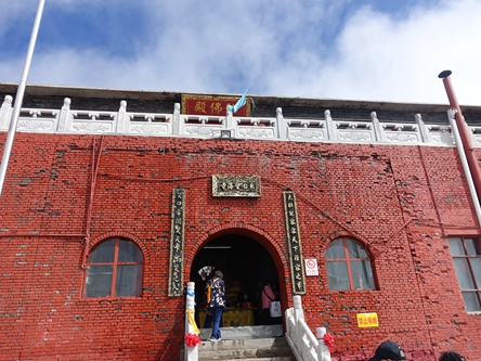 山西忻州-五台山東台望海峰望海寺