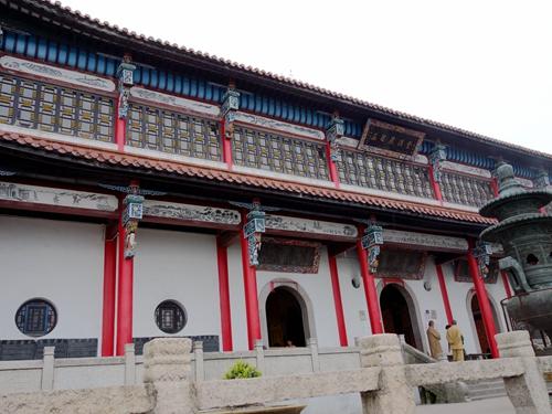 安徽池州-九華山五百羅漢堂