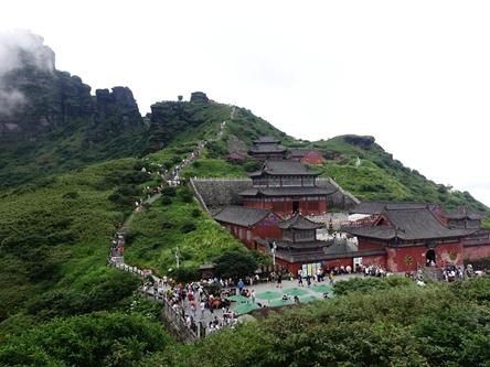 貴州銅仁-梵淨山彌勒菩薩道場