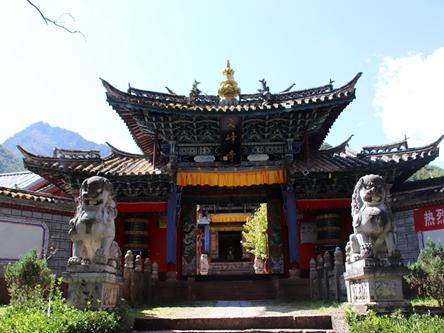 雲南麗江-文峰寺