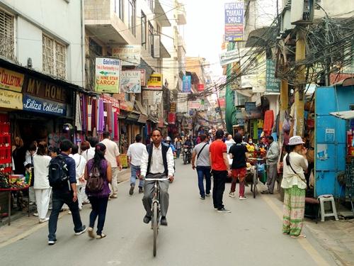 尼泊爾加德滿都-塔米爾街