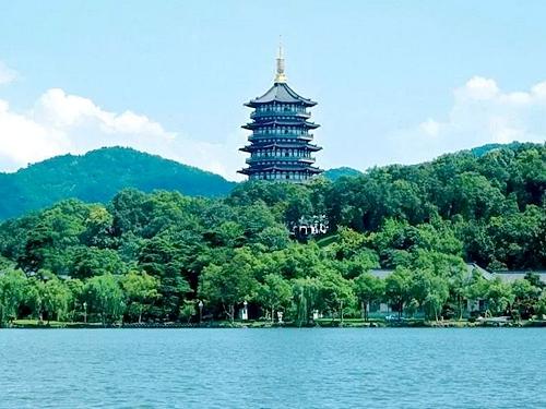 浙江杭州-雷峰塔