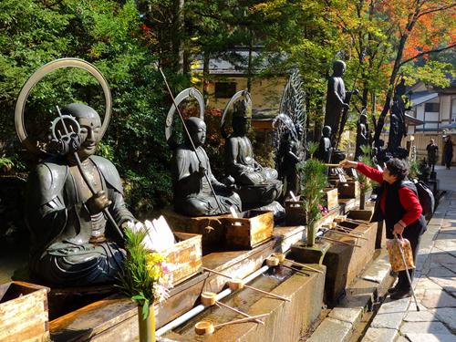 高野山 - 奧之院.地藏菩薩.水向地藏.水行場