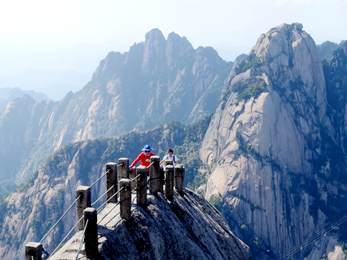 安徽黃山-天都峰