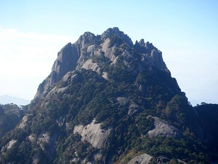 安徽黃山-蓮花峰