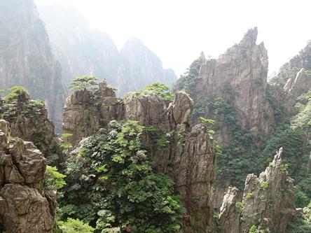 安徽黃山-西海大峽谷