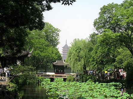 江蘇蘇州-拙政園