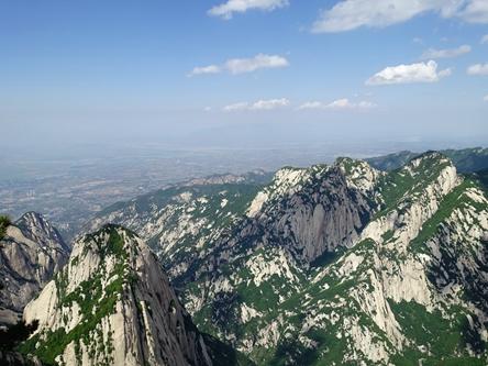 陝西渭南-西嶽華山