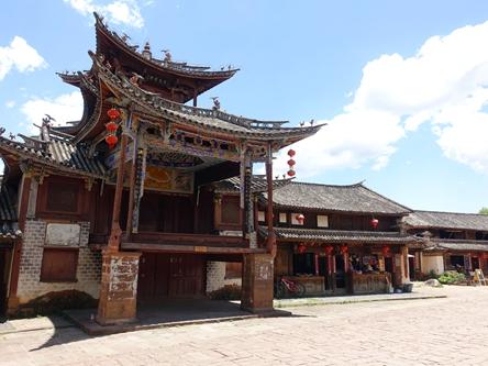 雲南劍川-沙溪古鎮