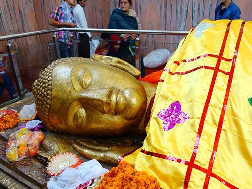 拘尸那羅 Kushinagar 佛陀涅槃處.梭羅雙樹.大涅槃寺.臥佛殿